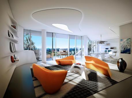 Zaha hadid residential interior google search case for Interior design zaha hadid