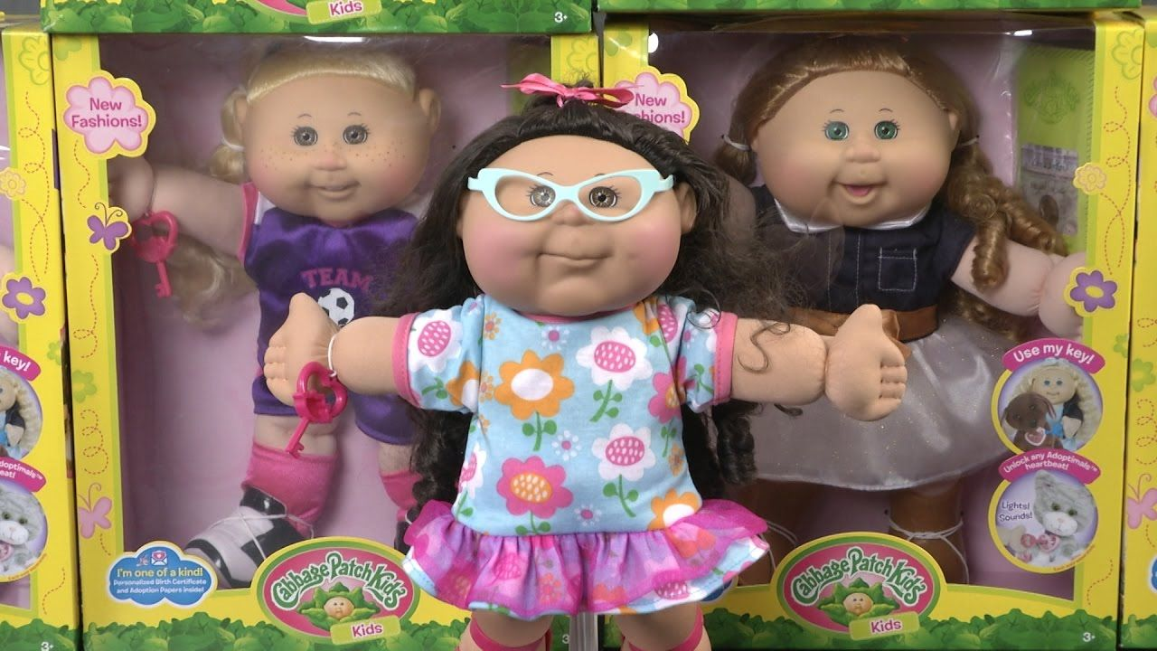 14 inch Target Exclusive Wicked Cool Toys Cabbage Patch Doll 2018 Holiday Edition