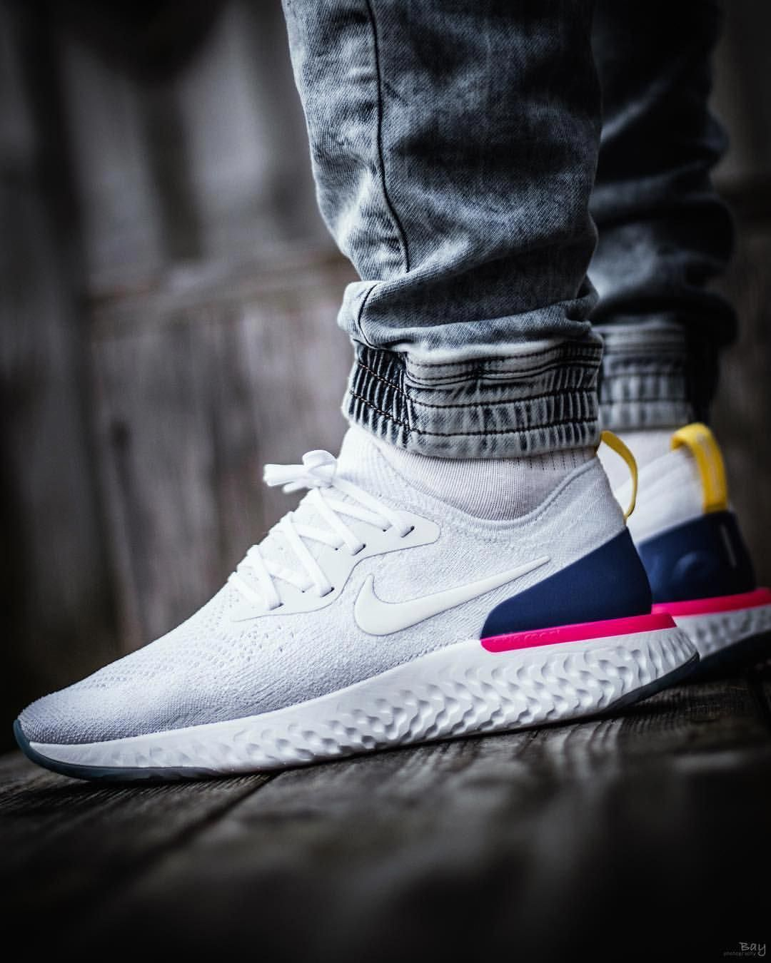 "291c0f12d4f1 EPiCREACT""  nike  nikesportswear  epicreact  nikeepicreact   epicreactflyknit  nikeepicreactflyknit  1daily  getswooshed   sneakerplaats…  Sneakers"