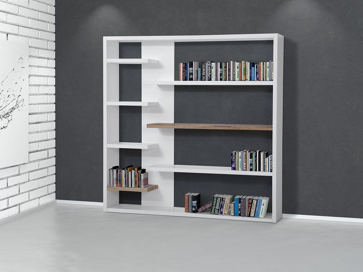 Impressionnant Meuble Etagere Bibliotheque D Coration Fran Aise  # Bibliotheque Meuble Blanc
