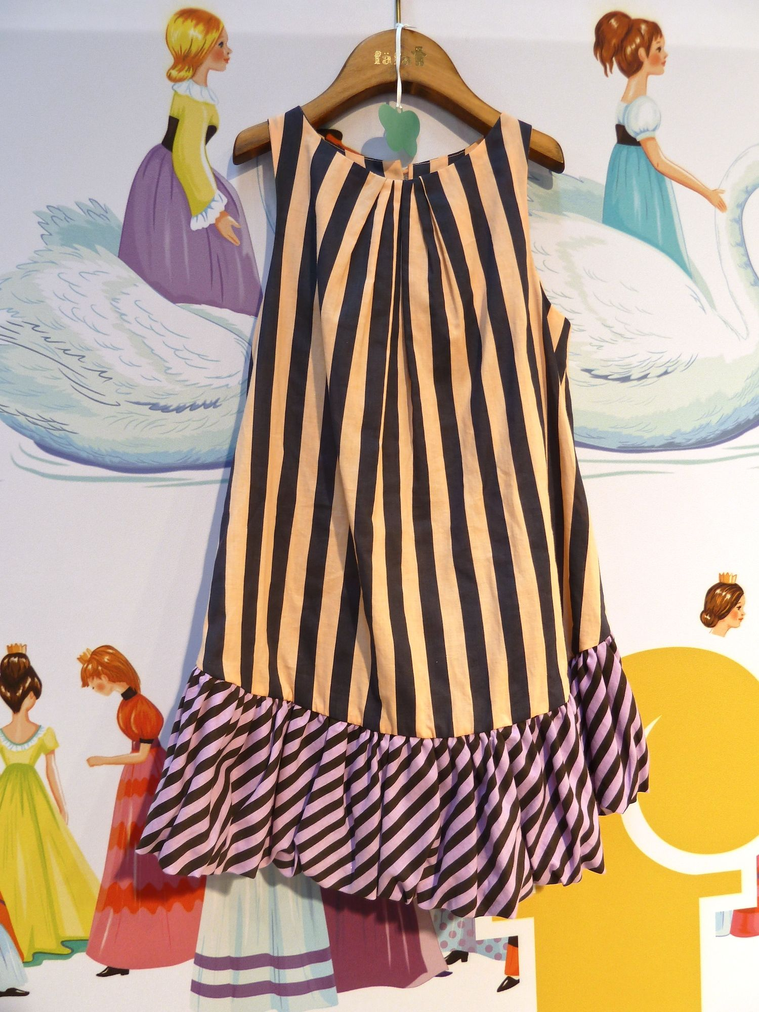 Contrasting stripes for Fafa spring/summer 2012 collection for kidswear x