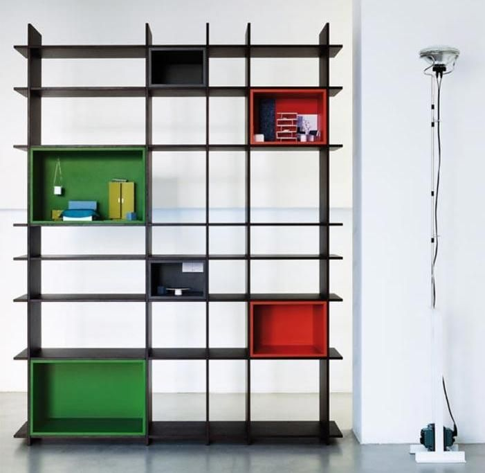 Modern Bookshelf Design shelf designs for the home | 17 modern bookshelf decorating ideas