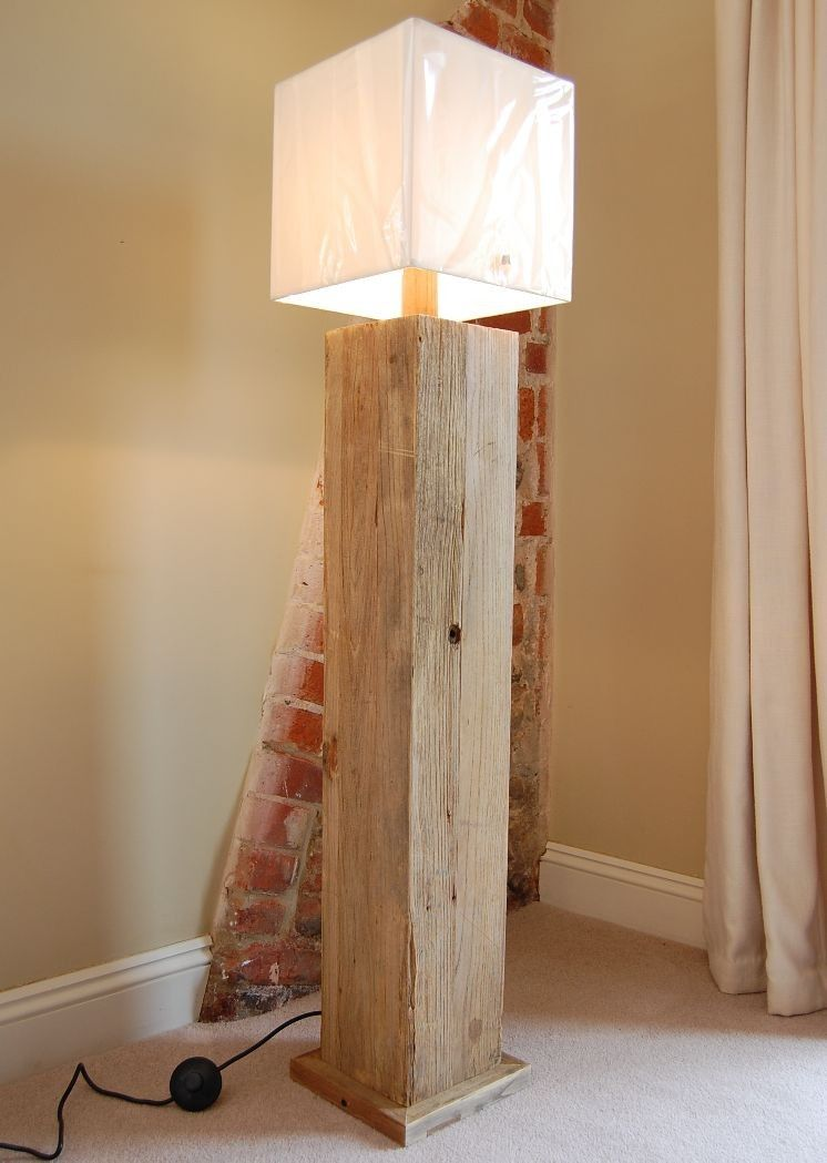 Seabrooks 160cm Tripod Floor Lamp Diy Wood