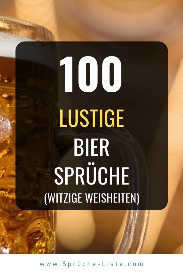 100 Lustige Bier Sprüche in 2020 | Lustige bier sprüche ...