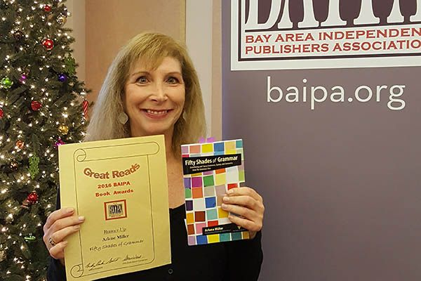 At itsDecember 10 meeting, the BAIPA awards committee honored 12 authors for their books, with first-place for fiction going toDennis Koller'sThe Oathand first-place for non-fiction to Skye Blaine'sBound to Love. Second-place awards went to Marla RosnerforSnob Free Wine Tasting Companion, Wine Smart in a Day! [Napa & Sonoma Edition] andArlene Miller forFifty Shades of Grammar: …