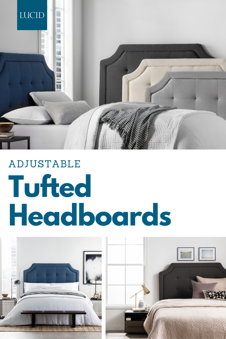 Adjustable Button Tufted Headboards To Add A Splash Of Color To