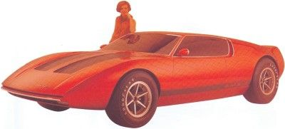 Introduction to the 1969 AMX/2 Concept Car and 1970 AMX/3 - 1969 ...