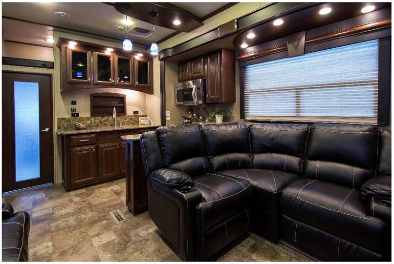 Luxury Fifth Wheel >> voltage 3970 toy hauler | Home, Toy hauler, Floor plans