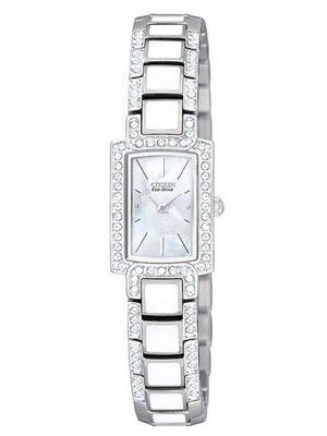 Creation watches offer 52% off on  Citizen Eco Drive Normandie White Dial EG2710-89D Womens Watch only for US $182.00
