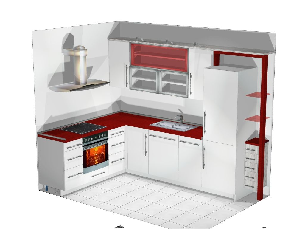 charming Small L Shaped Kitchen Floor Plans #4: Small L-shaped Kitchen | Small L Shaped Kitchen Designs