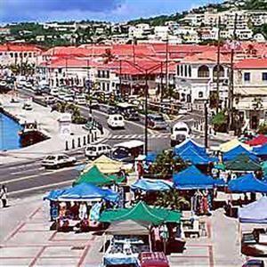 St Thomas Island Open Market Beaches Carabbien Cali East