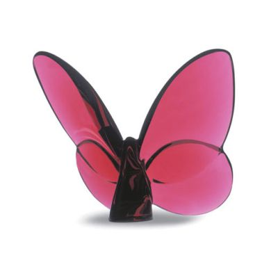 Baccarat - Red Butterfly (Available at Michael C. Fina)