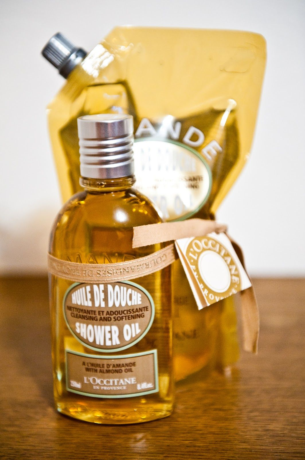 Best Shower Oil: #Lu0027Occitanne Amande #ShowerOil