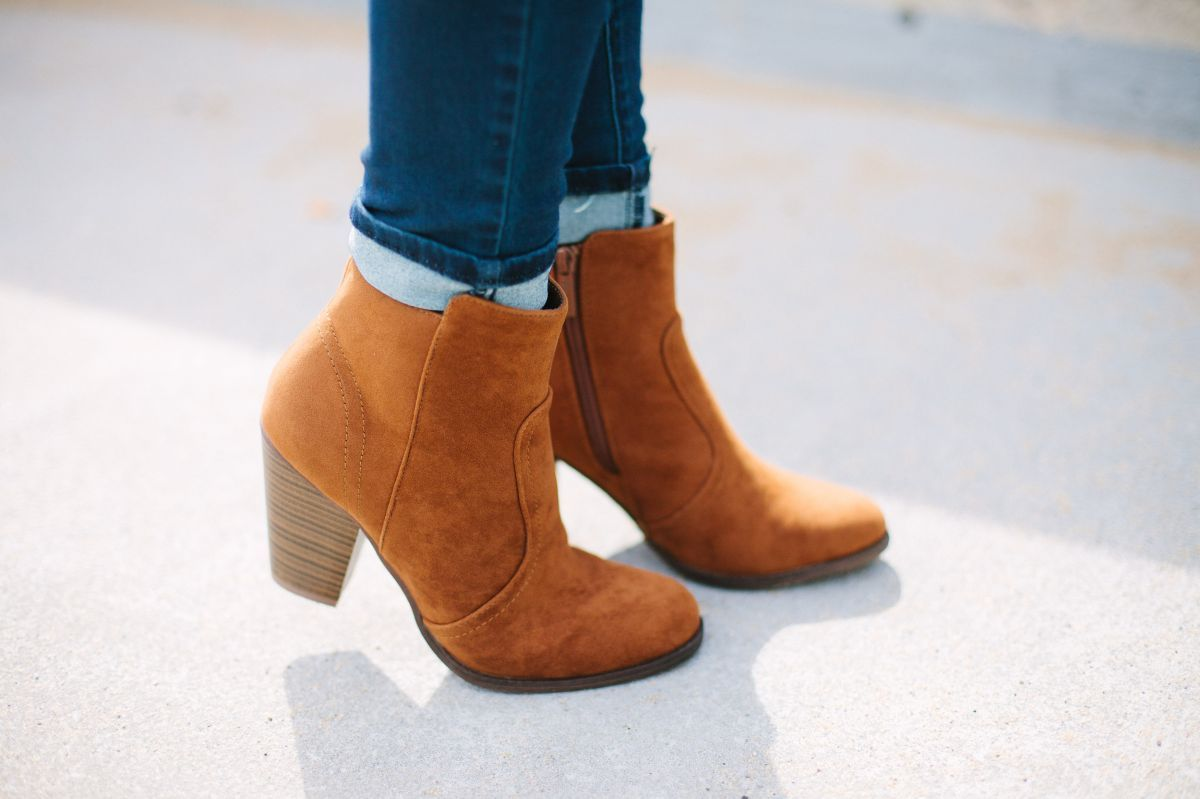 These are one of our most popular booties! You can literally wear them with EVERYTHING!