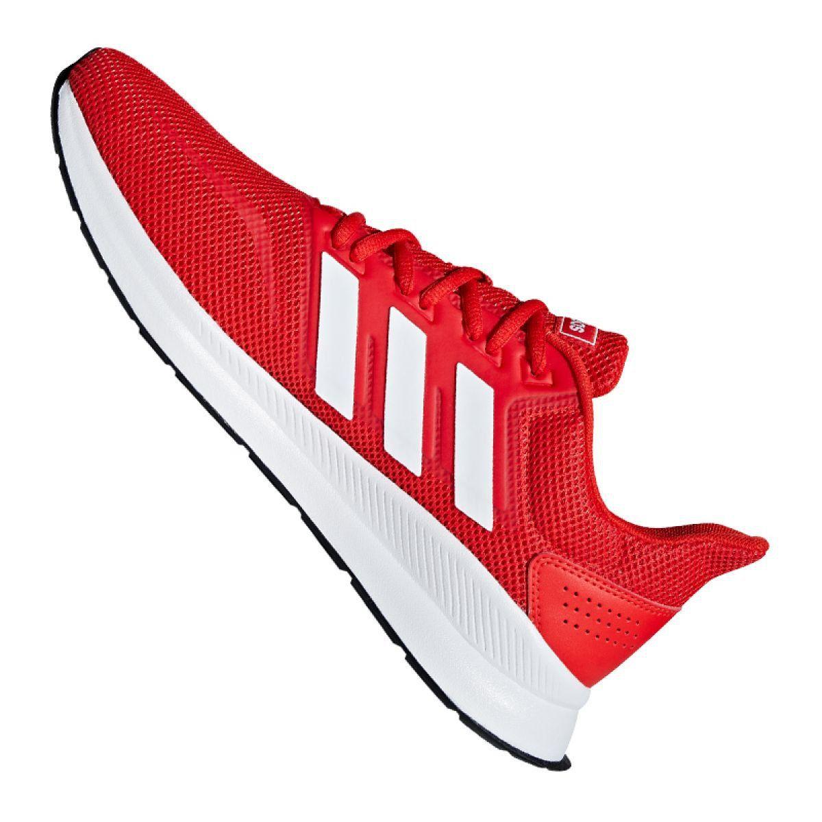 Buty treningowe adidas Runfalcon M F36202 czerwone | Adidas