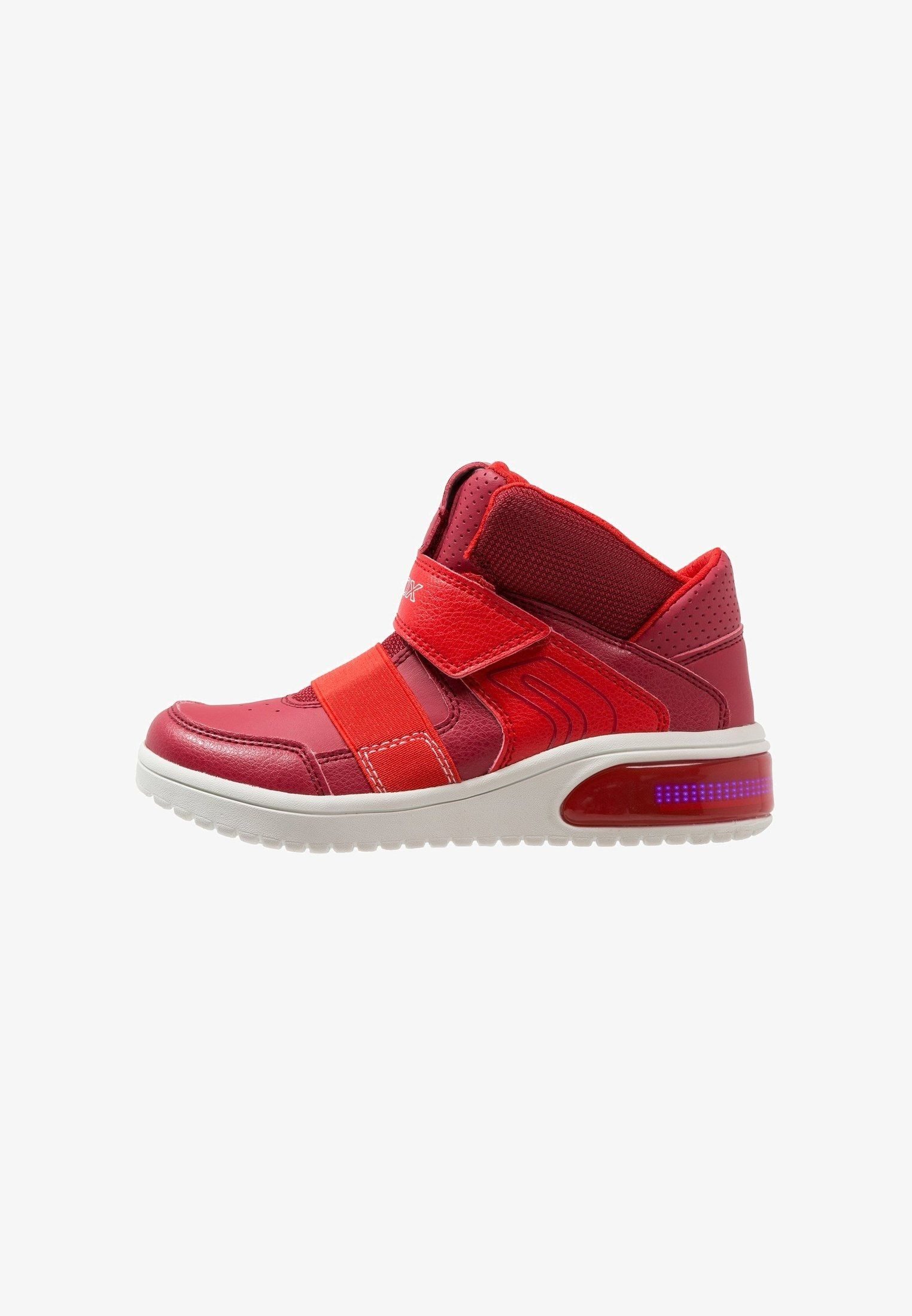 best service 0ba3d 9125a Geox XLED - High-top trainers - red - Zalando.co.uk
