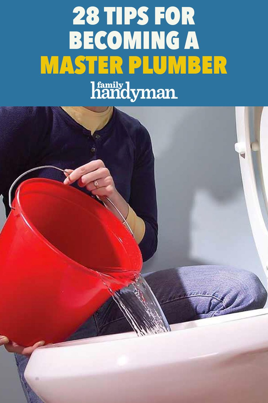 28 tips for a master plumber in 2020 plumber