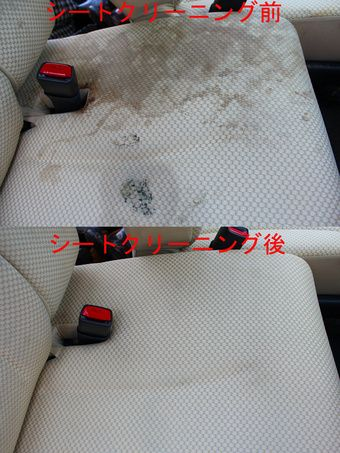 車内シートクリーニング 温水洗浄 モケット 革に対応 2 お掃除の裏技 車内クリーニング 車 シート 掃除