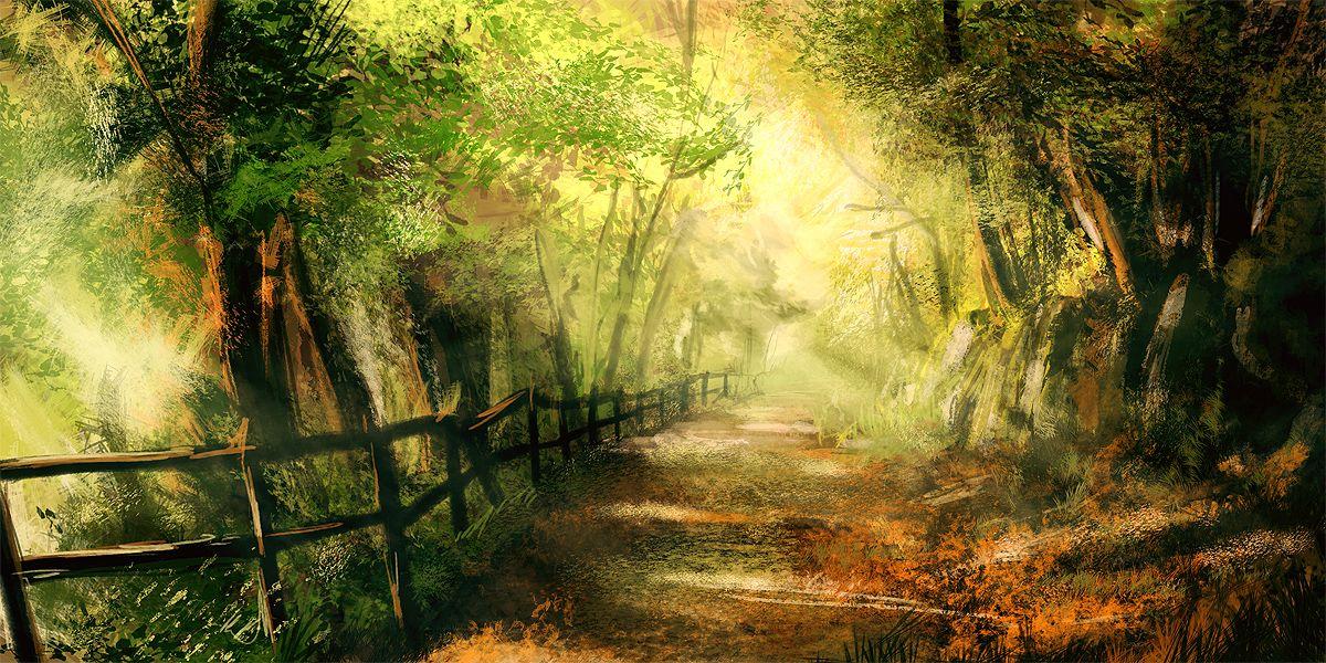 картинки фэнтези лес тропинка стоит забывать, что