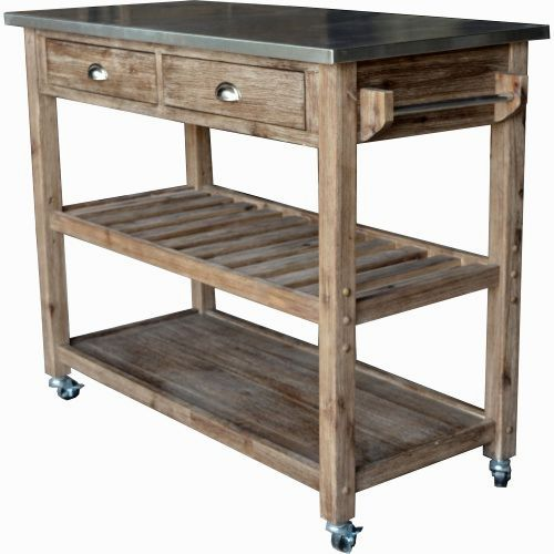 Rustic Kitchen Islands And Carts From Httpkitchenislands Magnificent Rustic Kitchen Cart Decorating Inspiration