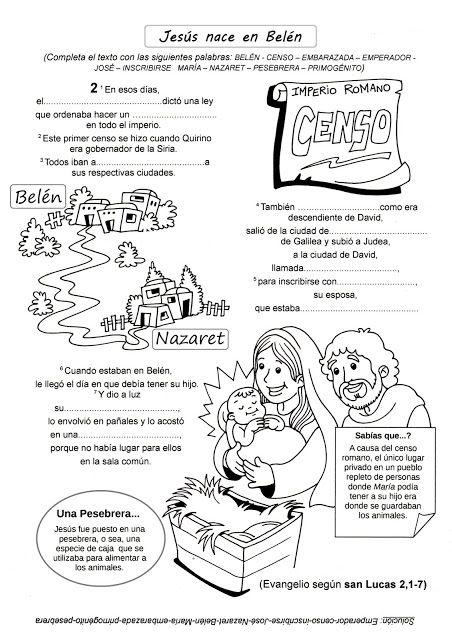 El Rincón de las Melli: EL EVANGELIO PARA COMPLETAR (La Infancia de ...