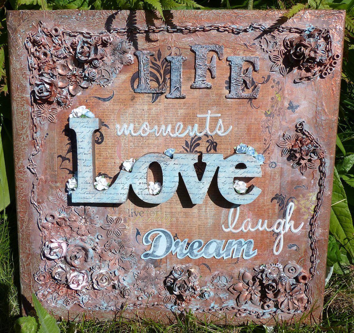Taulu seinälle - Love