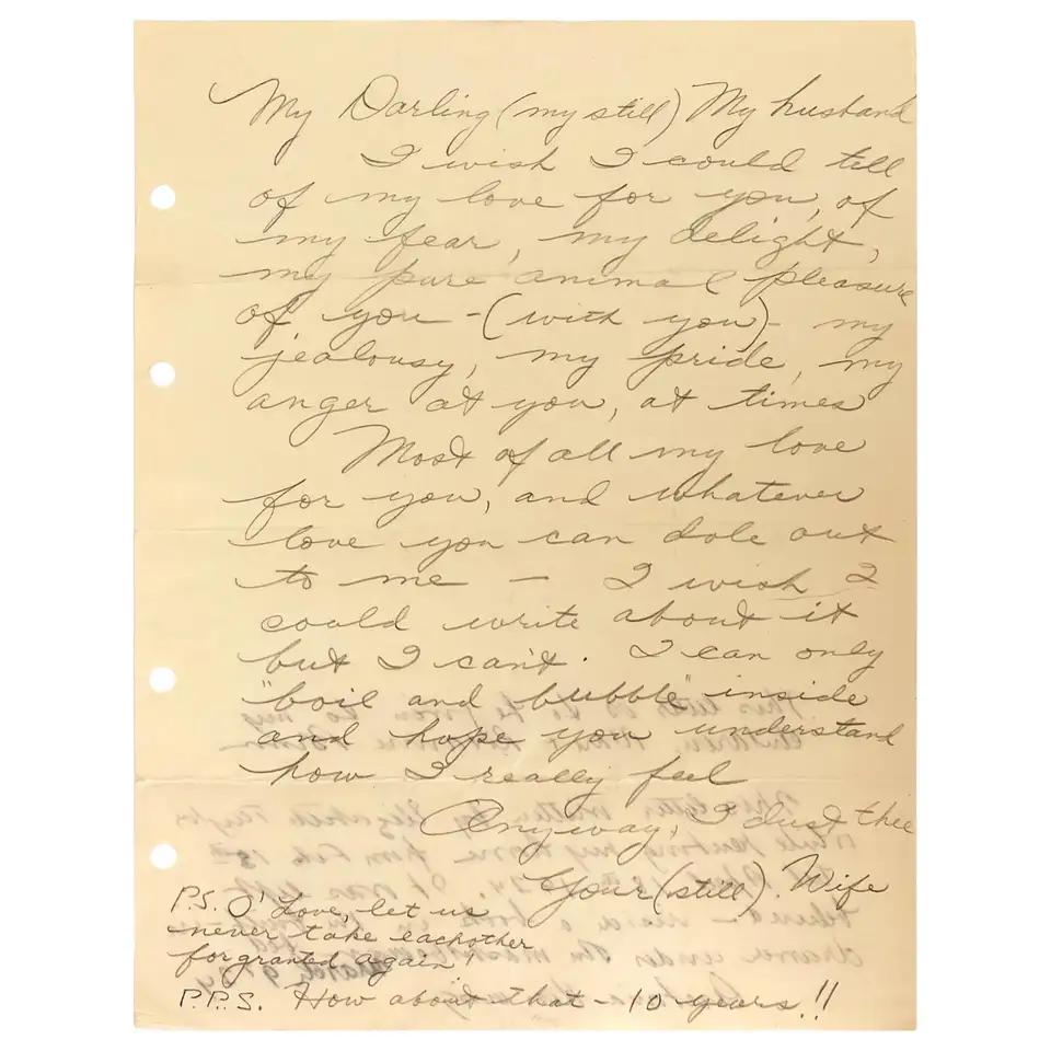 Elizabeth Taylor Genuine Handwritten Love Letter To Richard Burton In 2020 Love Letters Elizabeth Taylor Lettering