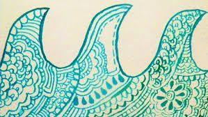 Resultado de imagem para ondas desenho tumblr