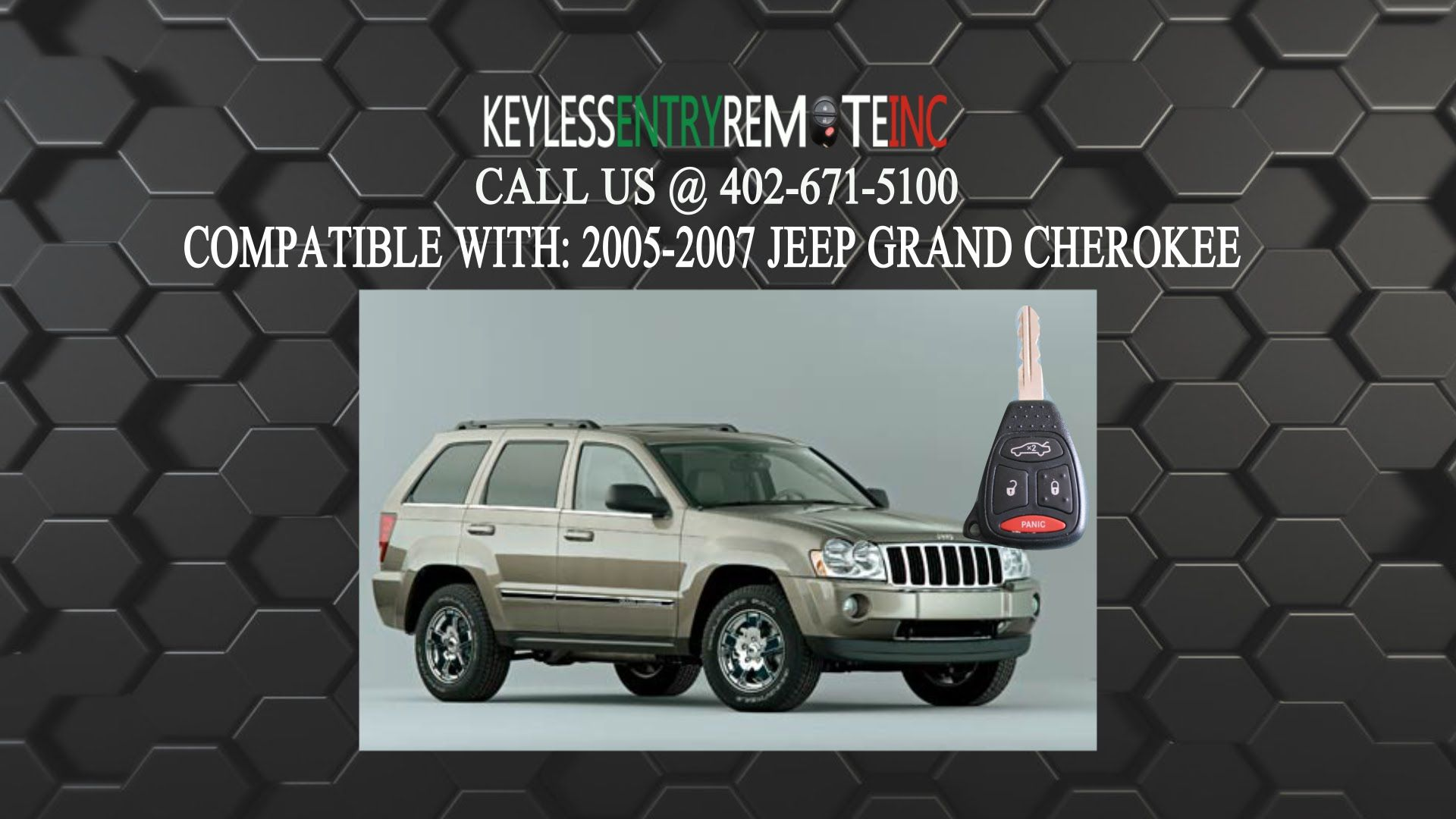 How To Replace Jeep Grand Cherokee Key Fob Battery 2005 2007 Jeep Grand Cherokee Jeep 2005 Jeep Grand Cherokee