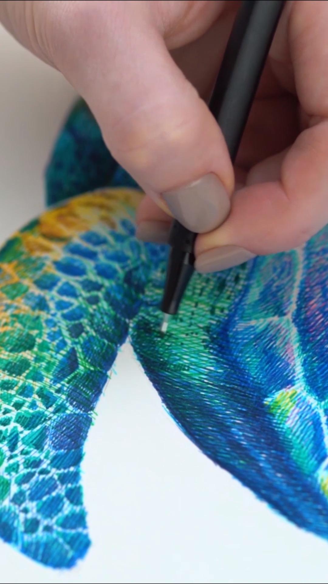 Limited stock!🔥 Kunst mit tinte, Ideen fürs zeichnen