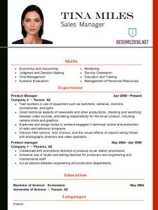Latest Functional Resume Template 2016