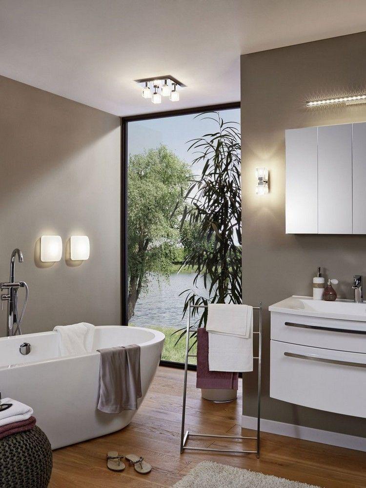 Lamparas de techo para cuartos de baño - 50 ideas | Pinterest ...