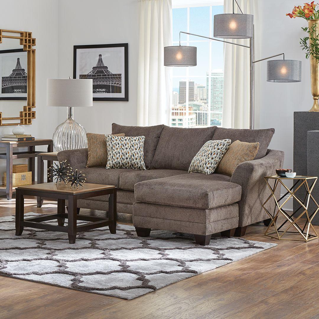 Jordan II Sofa Chaise | Casual Style in 2019 | Chaise sofa ...