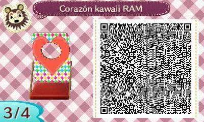 Este es un QR Code para Animal Crossing, creado por mí; como podéis observar, es un panel para fotos kawaii. (Por cierto, no posee una temática concreta) [3-4]  Lo podéis encontrar en mi canal de YouTube: https://www.youtube.com/channel/UCh6uwa2CjSgR4WQ-ghRQY6Q (Roxy).  ¡Espero qué os guste! ;)