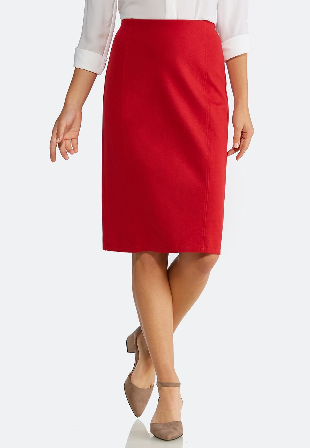bb9a4f3d4 Plus Size Ponte Pencil Skirt Skirts Cato Fashions | Christmas Wishes ...