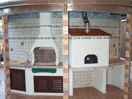 Cucina in muratura google cucina in muratura - Cucina in muratura per esterni con barbecue ...