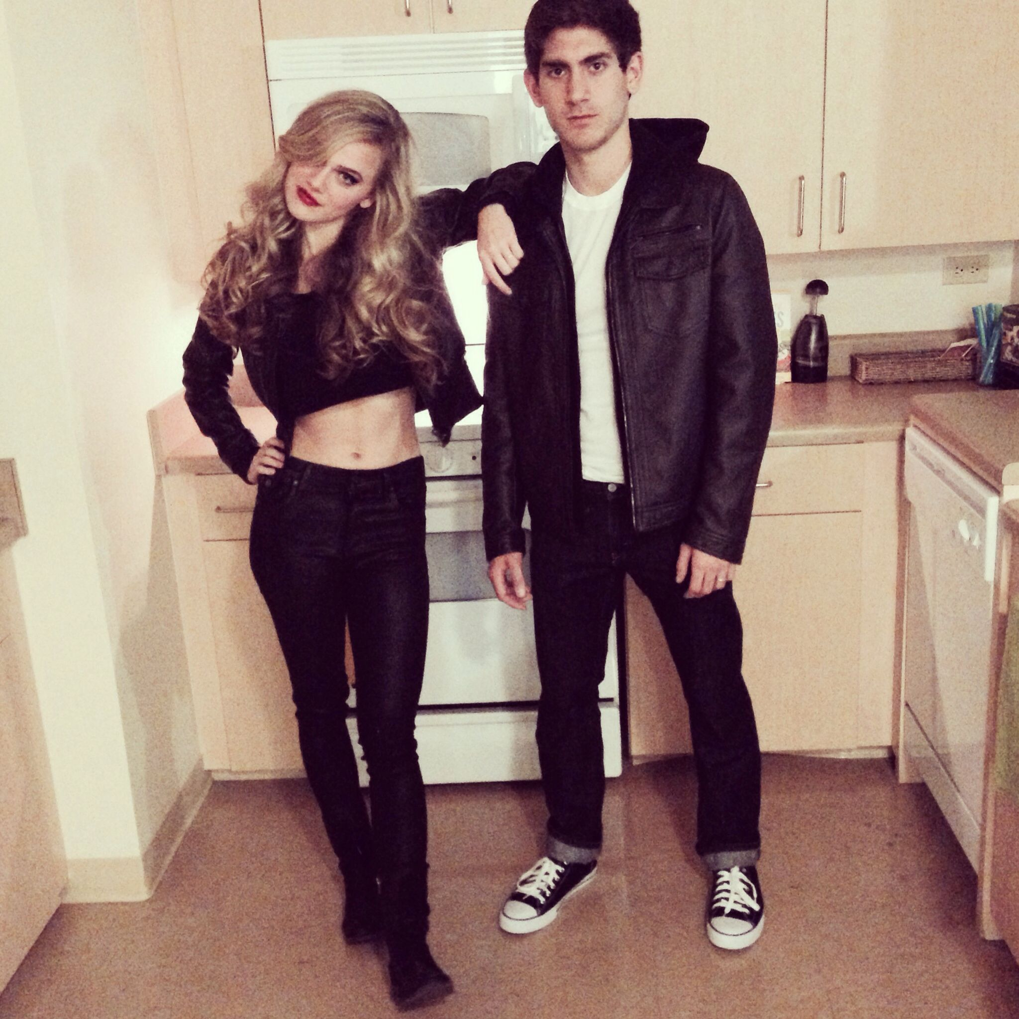 Sandy & Danny ! Grease Halloween costumes | college life ...