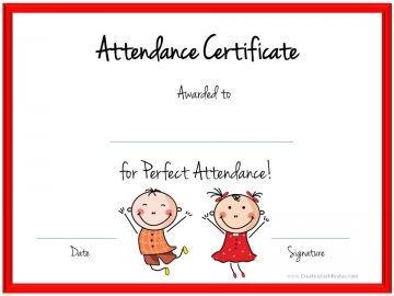 attendance award k ctr pinterest attendance award