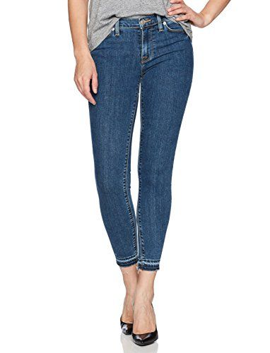 b58216521bd The perfect Hudson Jeans Women's Nico Midrise Ankle Skinny with Released  Hem Jeans womens fashion clothing