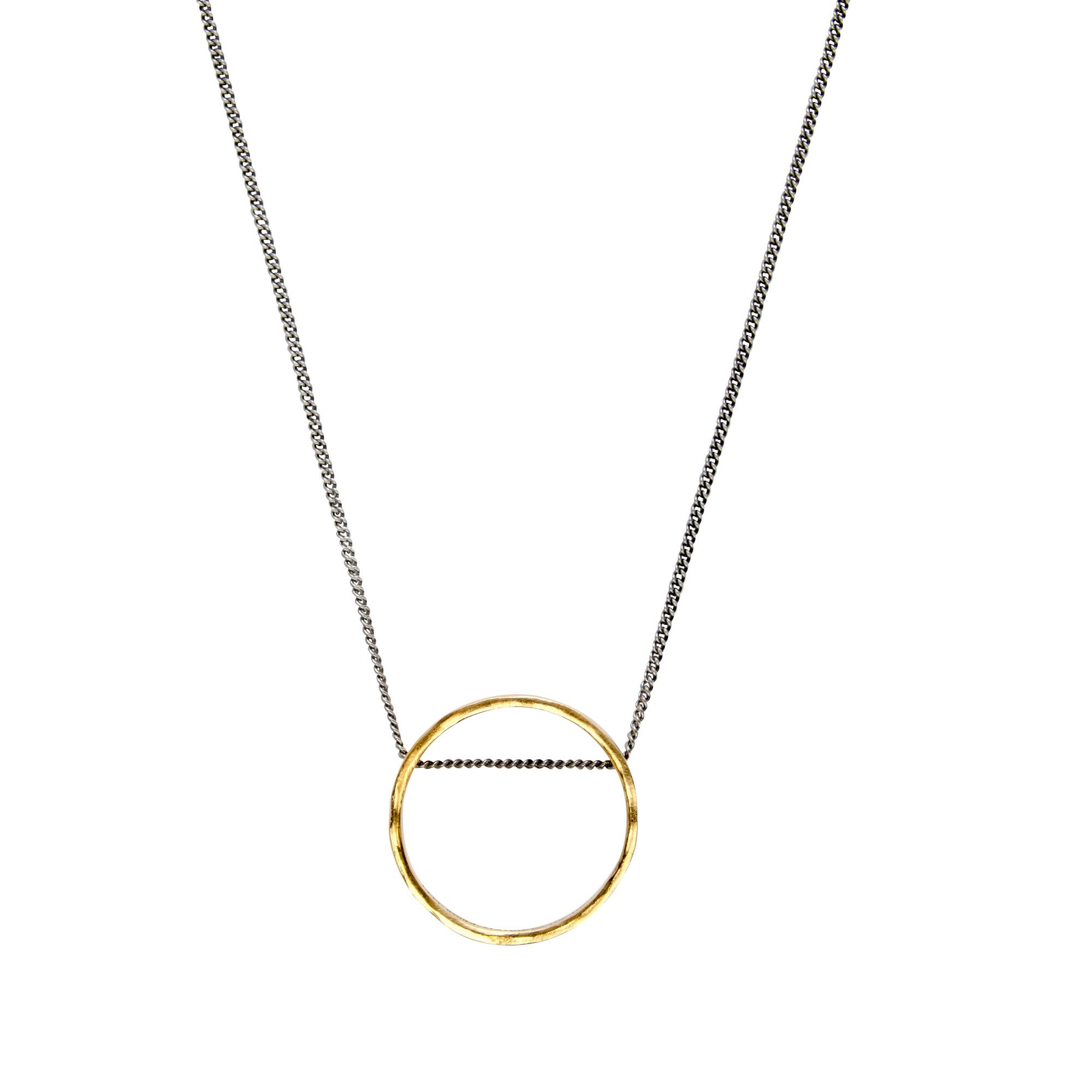 The portal Necklace - Gold plated