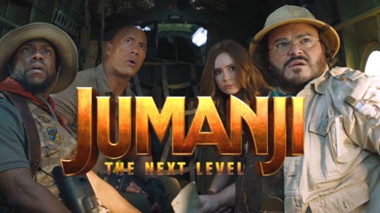 2020 Jumanji Meme Levels