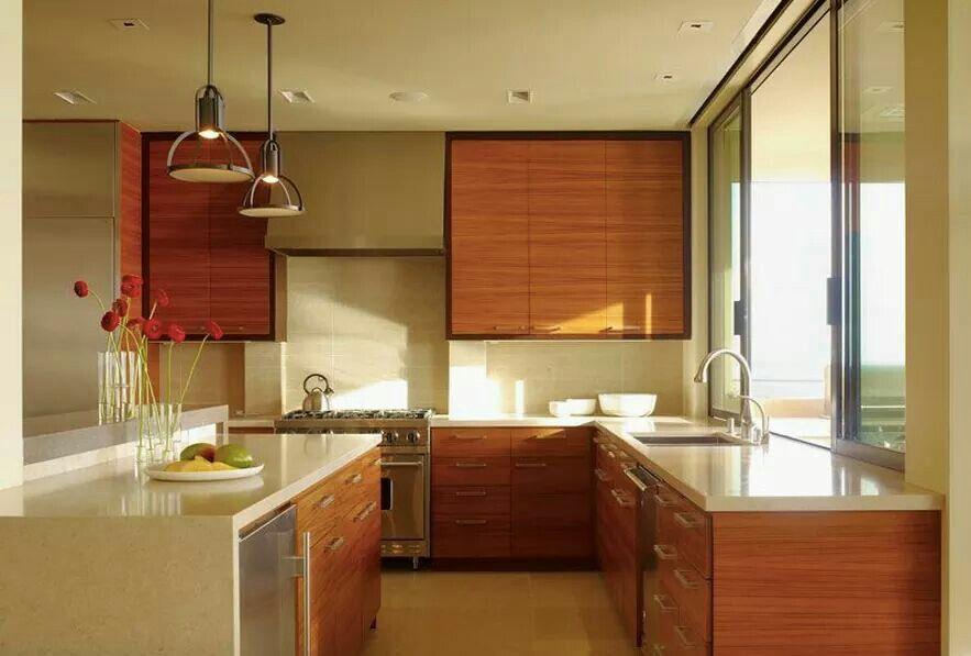 Simplistic and modern in kitchen San Jose, California
