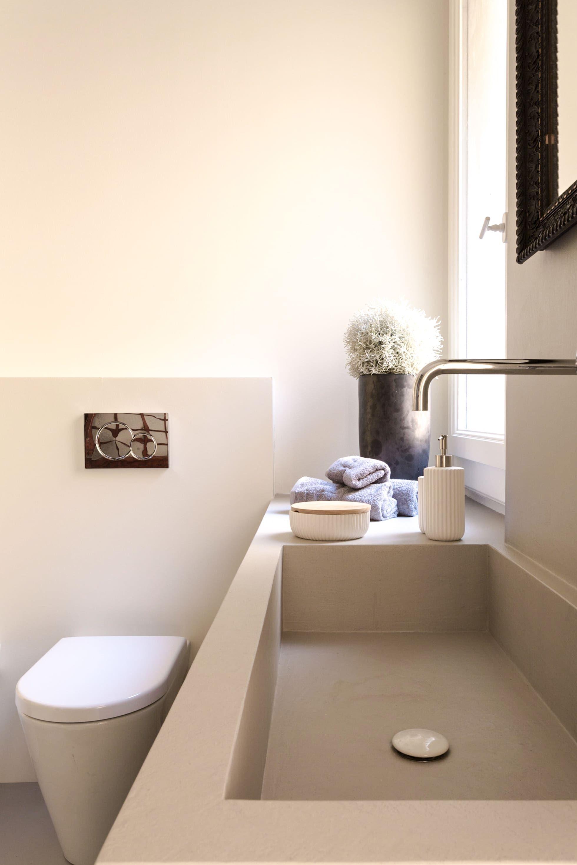 Ristrutturazione Della Casa Della Nonna Viu Architettura Bagno In Stile Mediterraneo Homify Bagno Minimalista Arredamento Bagno Idee Vasca Da Bagno