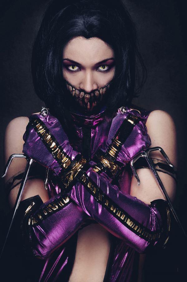 MILEENA cosplay by SombraSister on DeviantArt