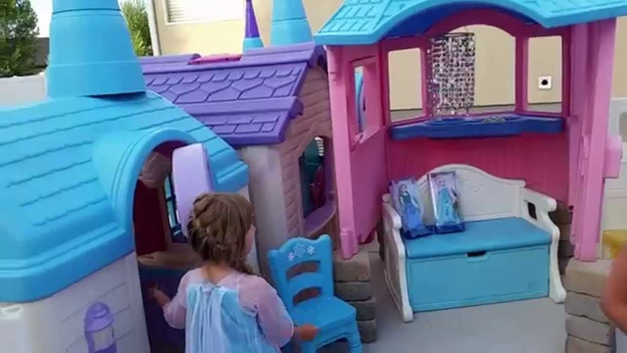 Frozen Castle Playhouse Created By Pam Fluckiger Toys
