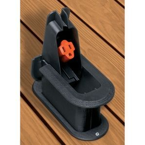 Always Have Power For A Stereo Or Outdoor Electronics With This Raised Deck  Grommet. It Folds Down When Not In Use, And Protects Extension Cords From  Impact ...