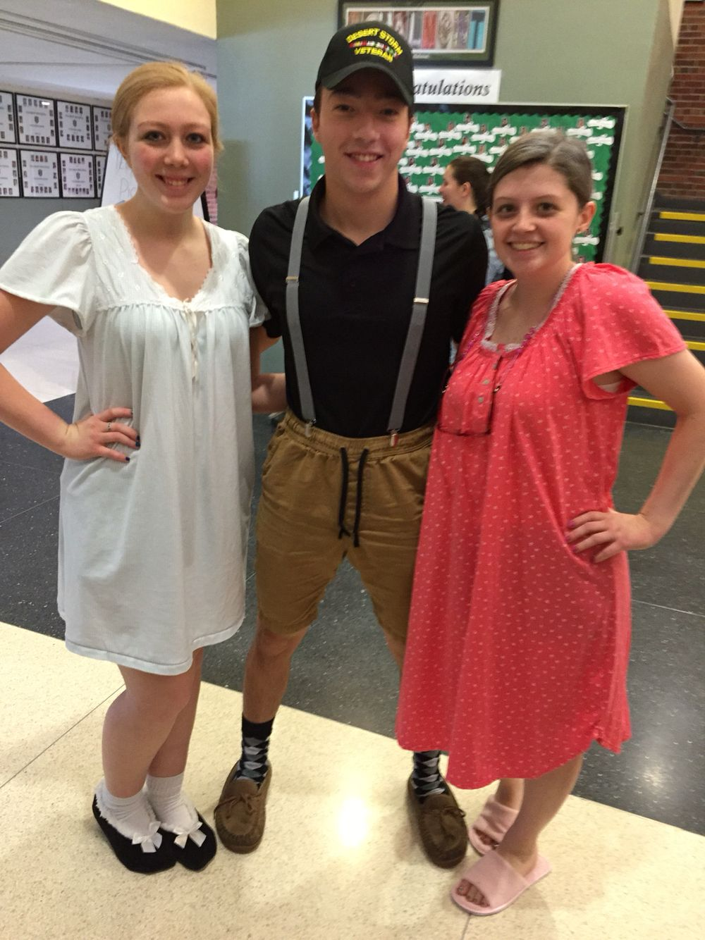 Senior Citizen Costume Senior Citizen Costume Spirit Week Outfits Dress Up Day