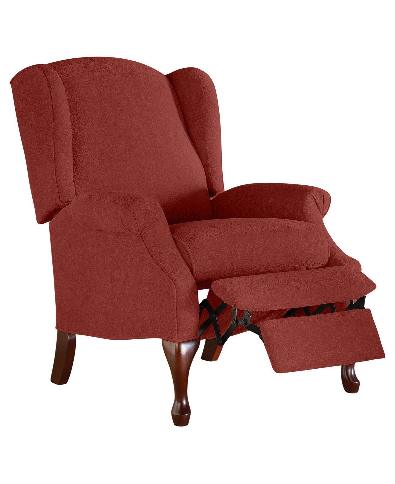Perfect Andy Recliner Chair, Queen Anne Style   Furniture   Macyu0027s (Color  Russet)