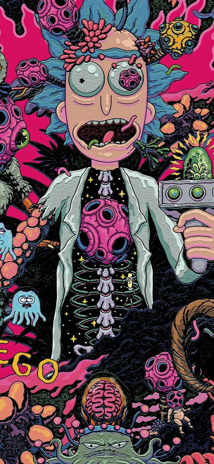 Rickandmorty Rick And Morty Rikimorti Rik I Morti Rick Morty Rik Morti Ri Iphone Wallpaper Rick And Morty Rick And Morty Poster Rick And Morty Drawing Iphone trippy rick and morty wallpaper