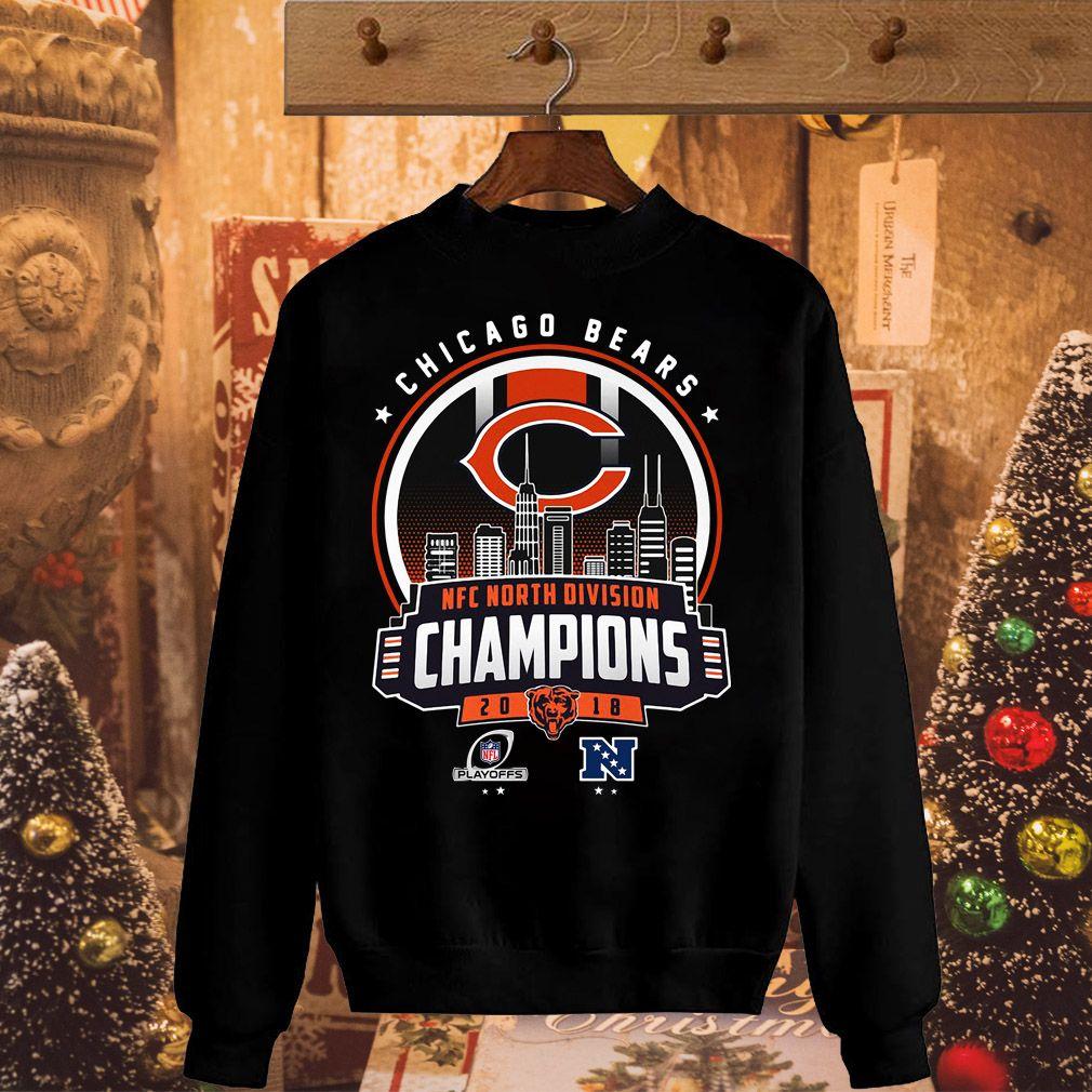 54196f7fb Chicago Bears NFC North division champions 20 18 shirt